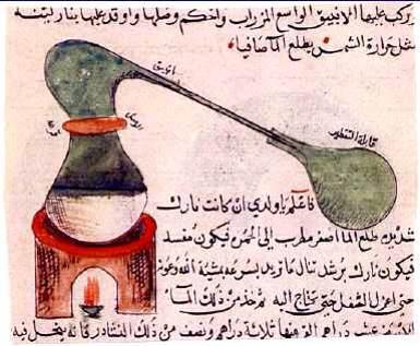 Parfumerie, chimie et monde musulman